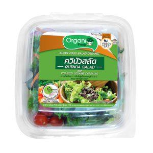 Quinoa Salad With Roasted Sesame Dressing