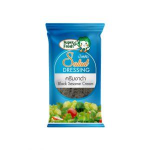 ซองน้ำสลัดครีมงาดำ Black Sesame Cream Dressing