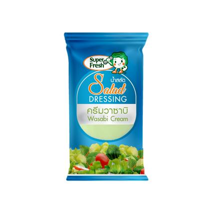 Wasabi Salad Dressing น้ำสลัดครีมวาซาบิ แบบซอง