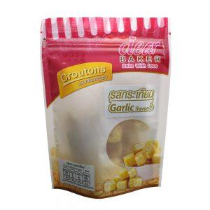 กรูตองซ์รสกระเทียม garlic flavor crouton