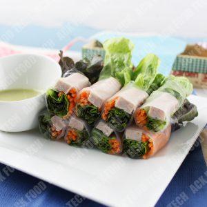 สลัดโรลแฮม Salad Roll with Ham